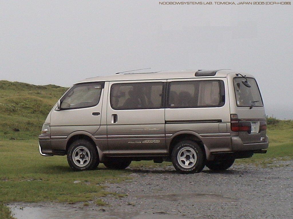 Toyota Hiace 4wd